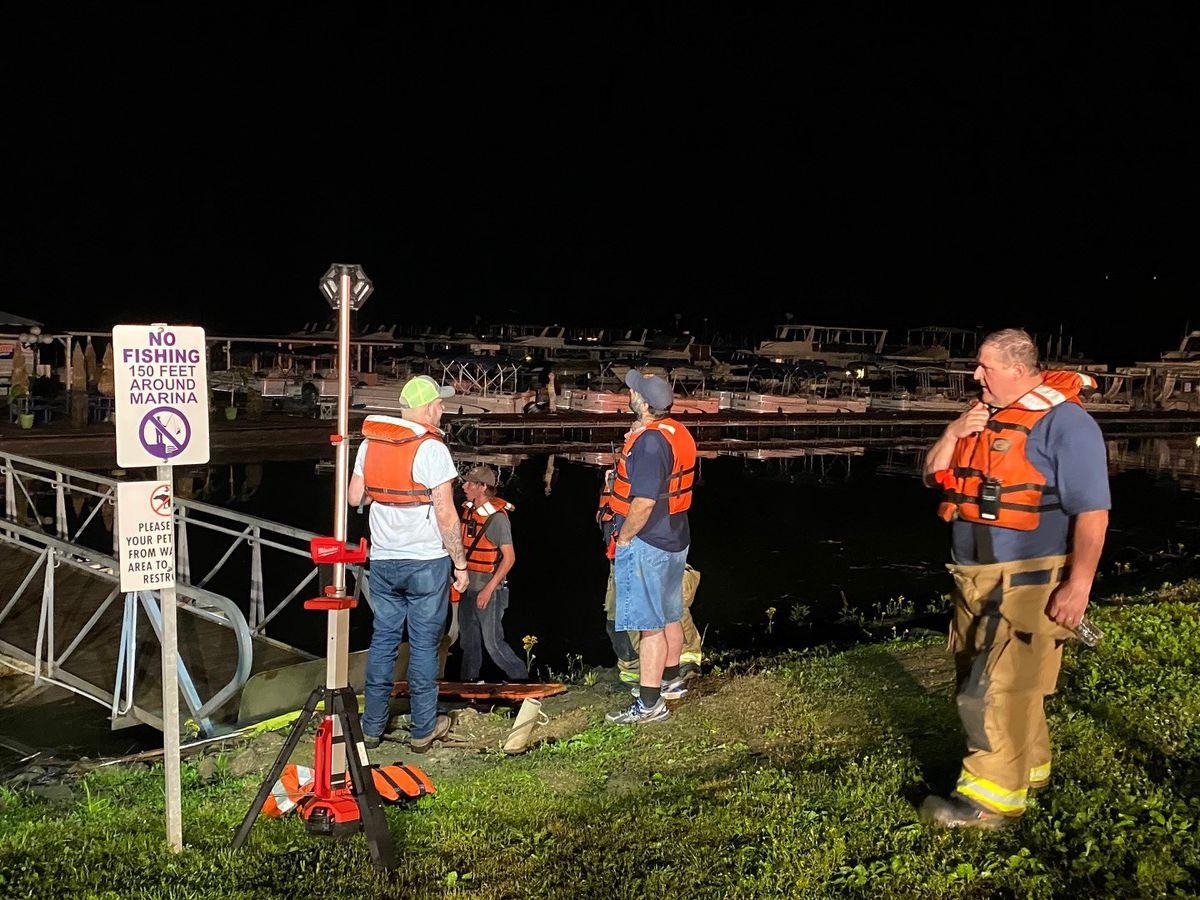 Taylorsville Lake Marina closed due to storm damage