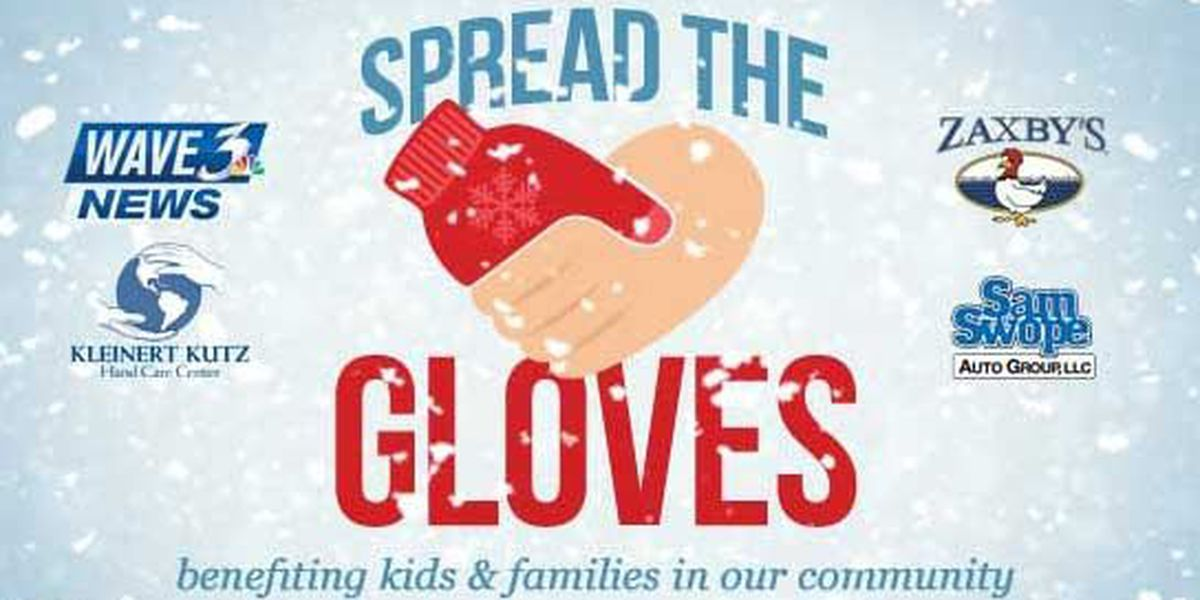 Hundreds of Spread the Gloves donations given to those in need