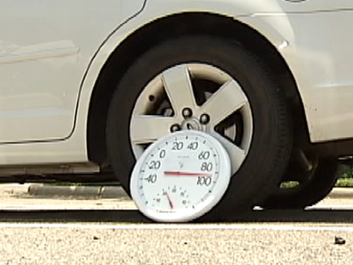 High temperatures could spell disaster for items left in cars