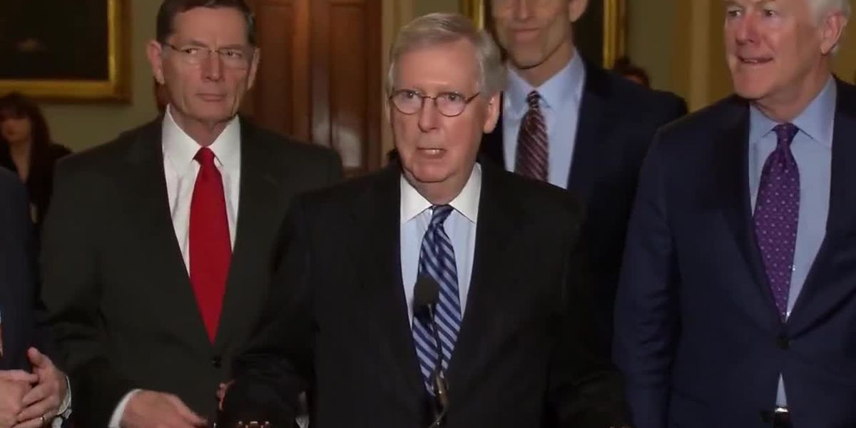 Report: McConnell says closing border with Mexico would be 'catastrophic'