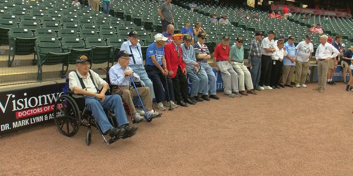 WWII vets honored ahead of 75th anniversary of D-Day