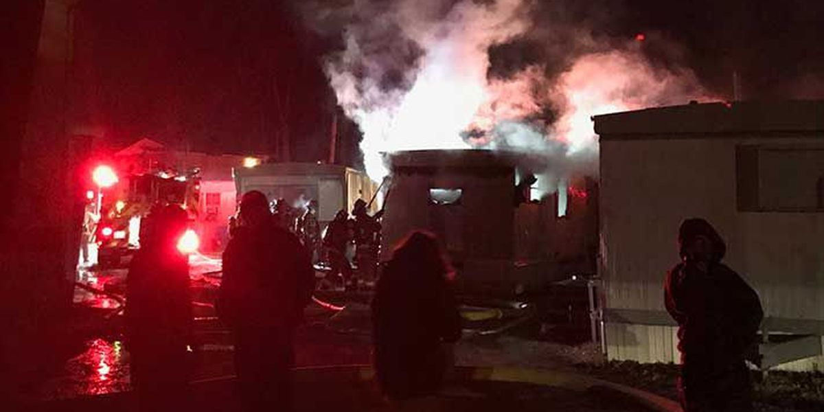 Family displaced by fire near Iroquois Park