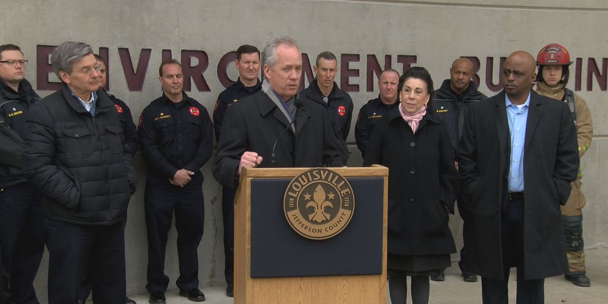 Welcoming latest class of firefighters, mayor addresses potential cuts