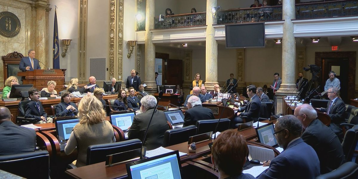 First part of Kentucky legislative session comes to close, lawmakers adjourn until next month