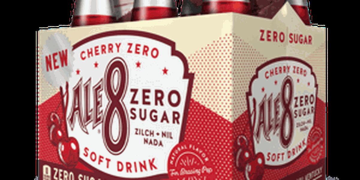 Cherry Ale-8 One Zero Sugar hitting shelves in March