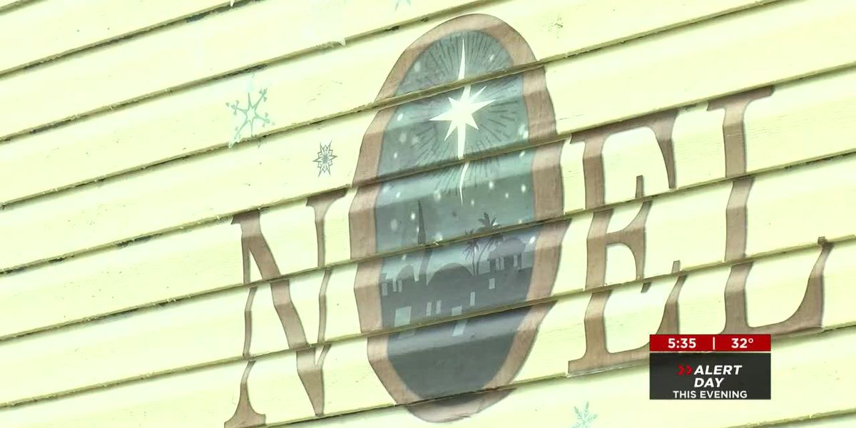 City of Lebanon issues citation for woman's Christmas decorations