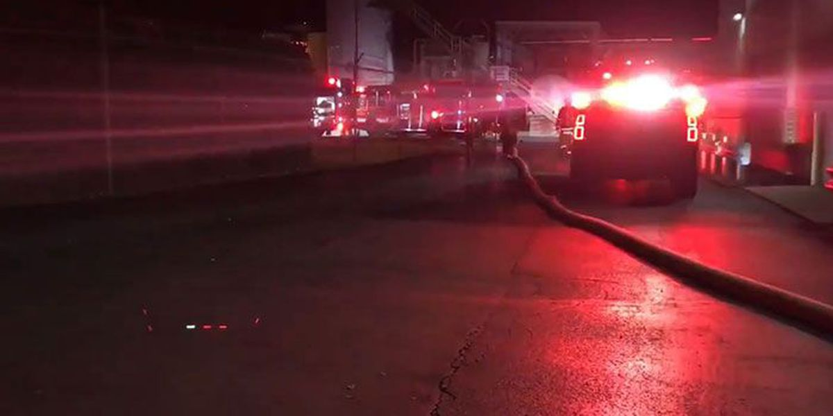 Industrial fire in downtown Jeffersonville under control, officials say