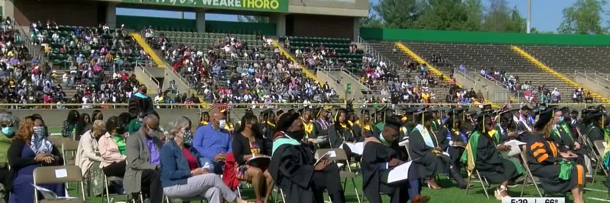 KSU graduates receive diplomas at in-person graduation ceremony