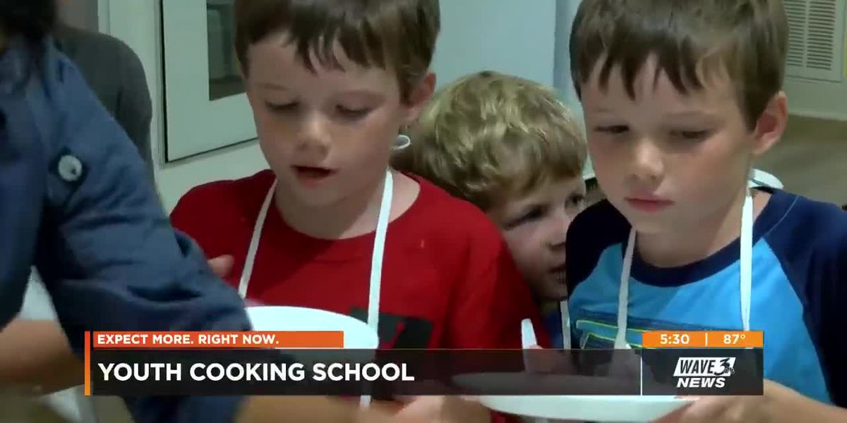 New cooking school helps kids learn about different foods, even vegetables