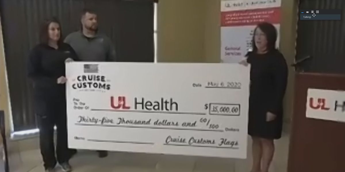 Business owners donate $35,000 to UofL Health