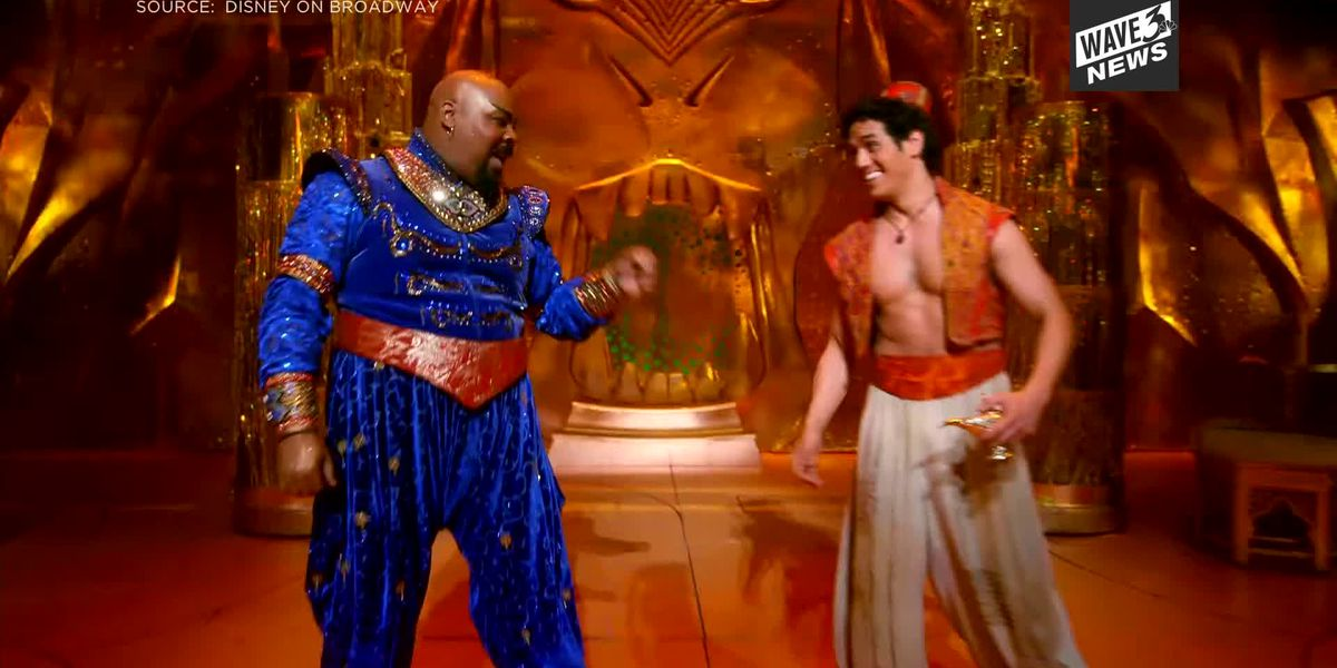 Behind the scenes of Aladdin