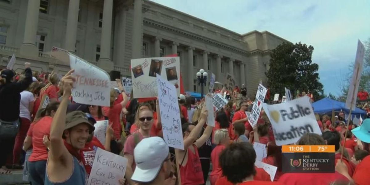 In Kentucky, an early test of teachers' new political power