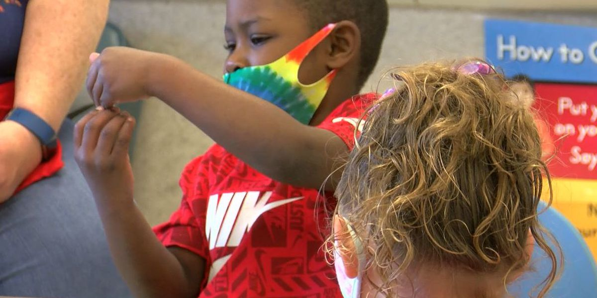 Youngest JCPS students begin in-person learning