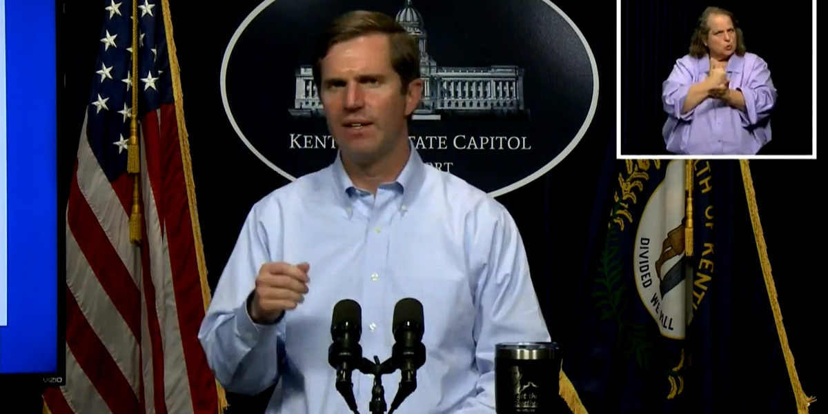 Beshear announces reopening dates for restaurants, bars, other venues