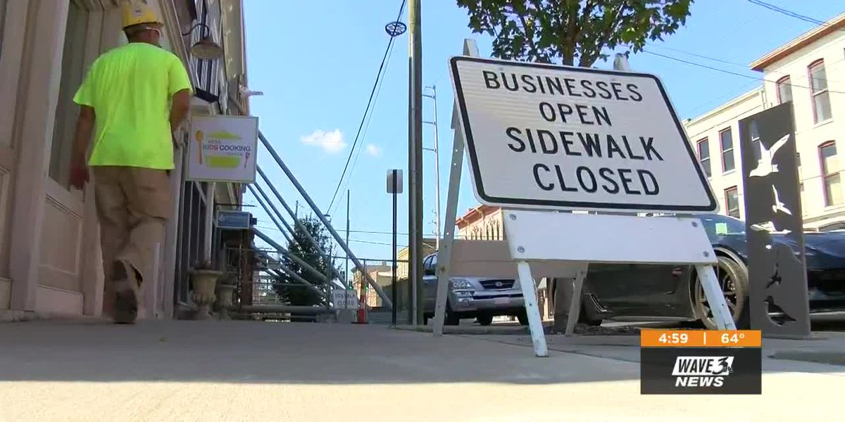 Underground Station businesses frustrated by city projects blocking access for customers