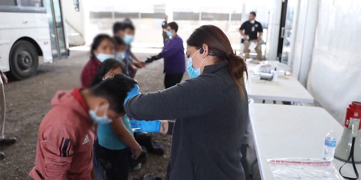 Migrant children held in mass shelters with little oversight