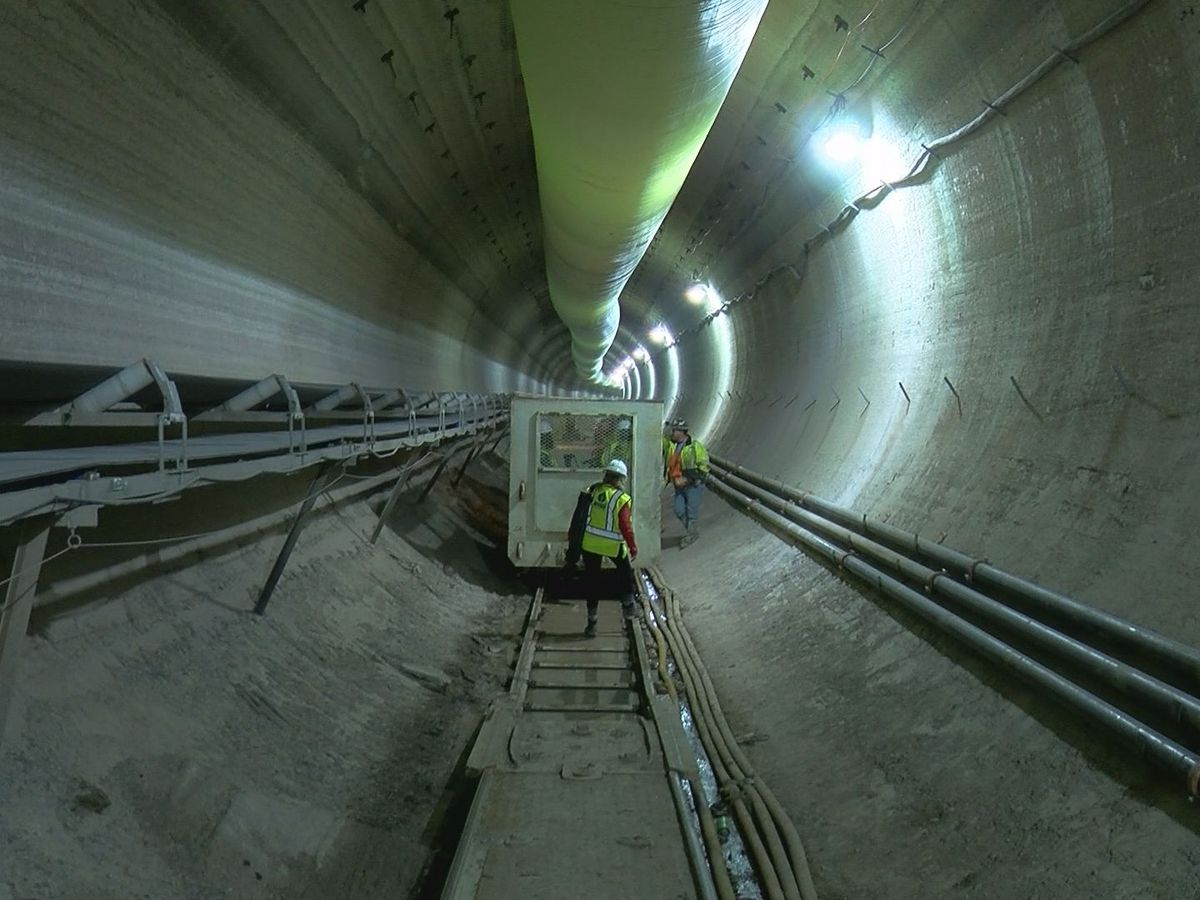 A trip inside the MSD Waterway Protection Tunnel