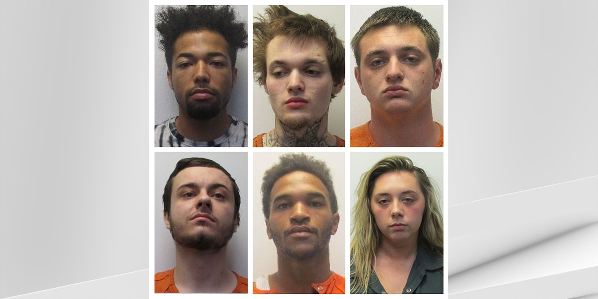 7 charged in shooting investigation in Jeffersonville