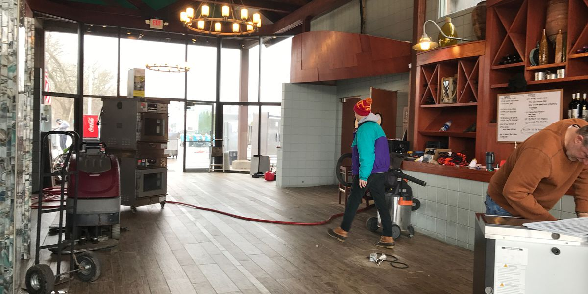 Several businesses prepare to open after flooding