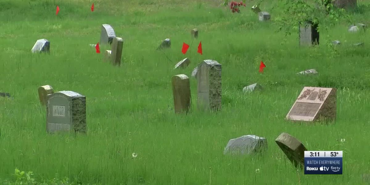 Organizers plead for help to tame grass, weeds and broken tombstones at Greenwood Cemetery