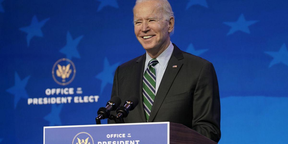 Biden arriving in Washington with big plans, big problems