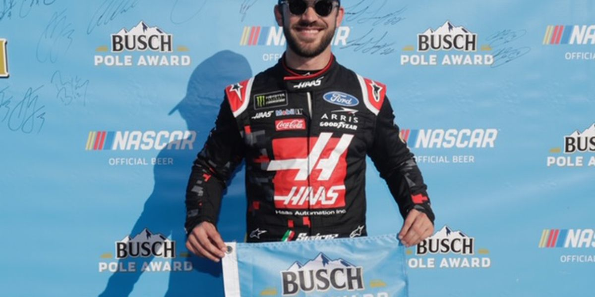 Suarez Will Start on the Pole For Quaker State 400
