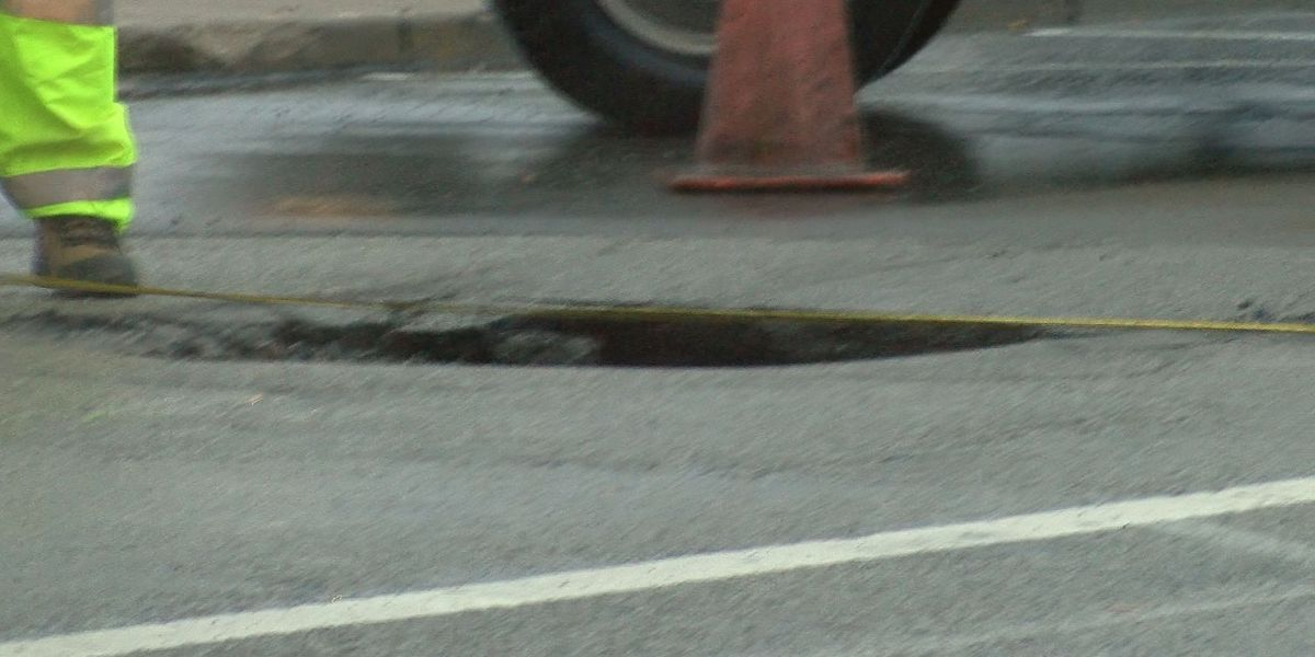 Downtown Louisville road reopens following sewer pipe collapse