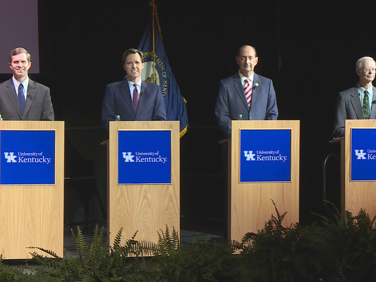 Democratic candidates for governor debate for last time before election