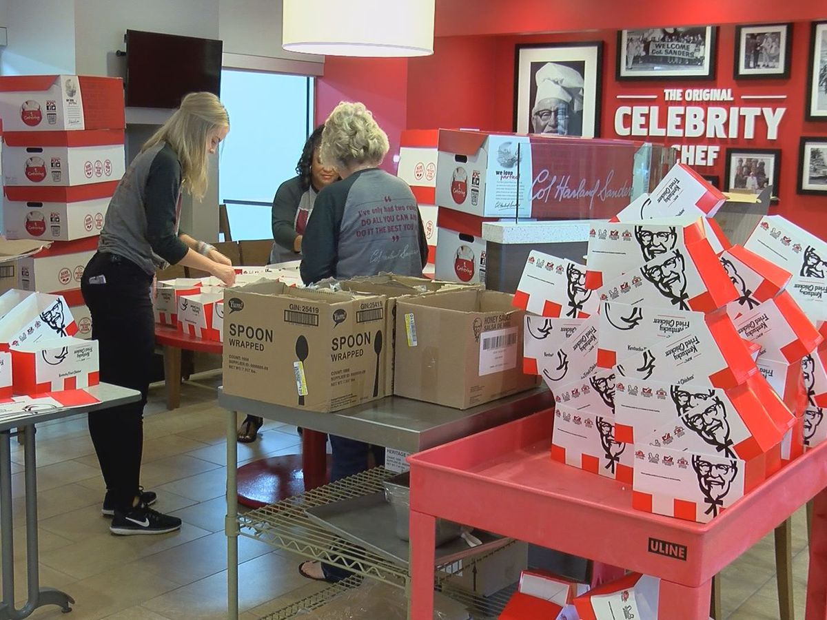 KFC celebrates National Fried Chicken Day with food donation