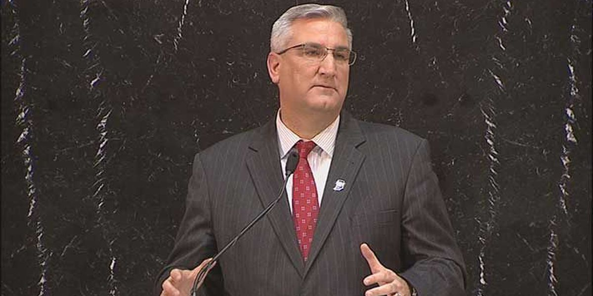 Gov. Eric Holcomb delivers State of State address
