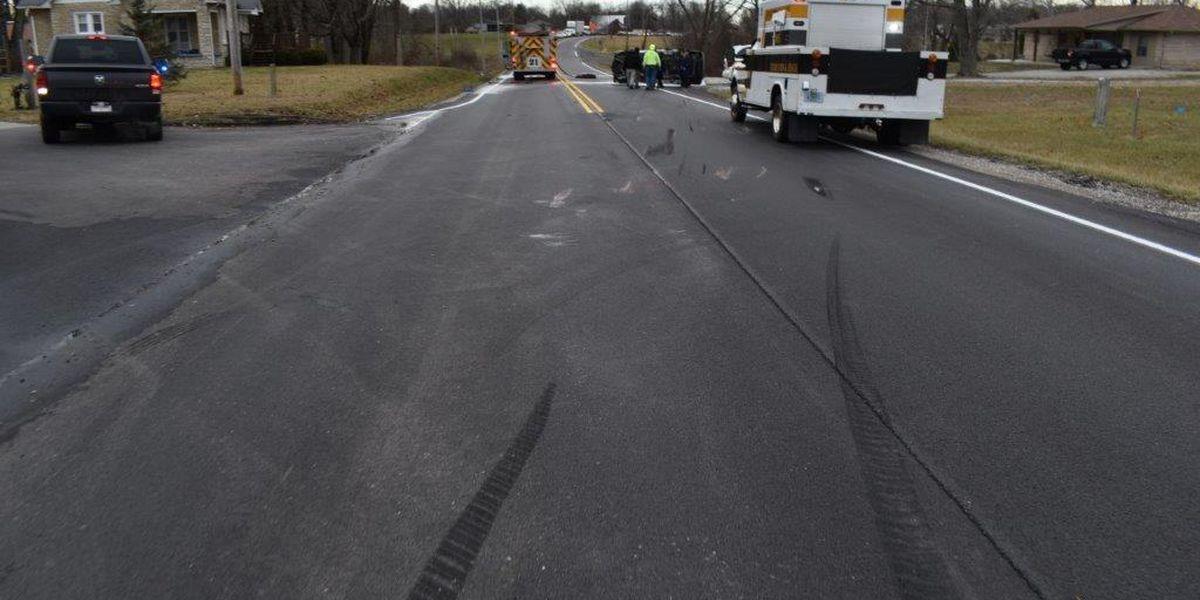 North Vernon man dies in Jennings County crash