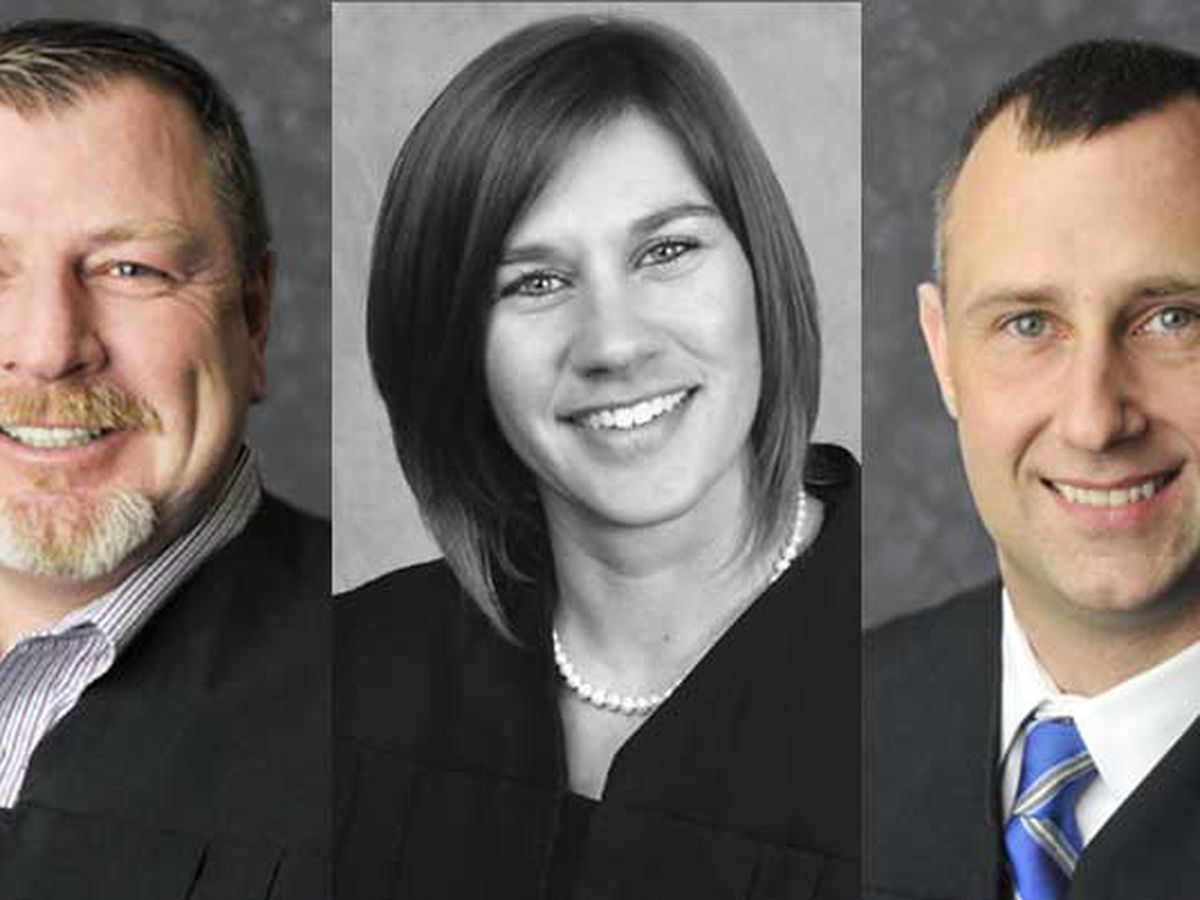 Court documents say female judge flipped off men before fight leaving two judges shot