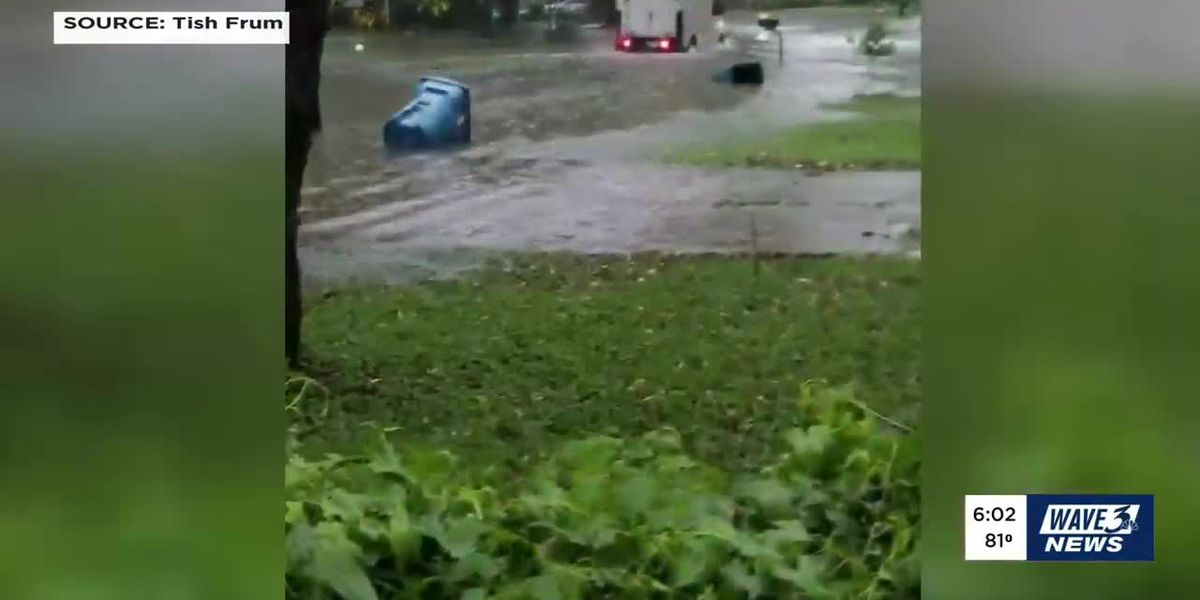 Valley Station neighbors say they 'dodged a bullet' after close call with flash flooding