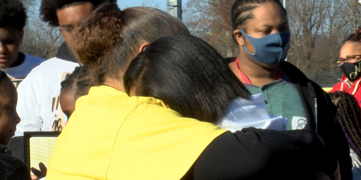 Family hosts vigil, balloon release for 19-year-old killed in drive-by shooting last December