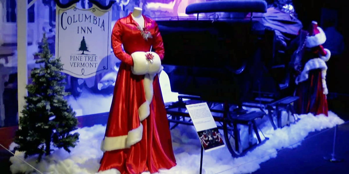 White Christmas exhibit at the Frazier celebrating 65 years of the famous holiday musical
