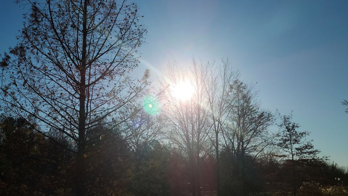 FORECAST: Lots of sunshine today; Highs around 50°