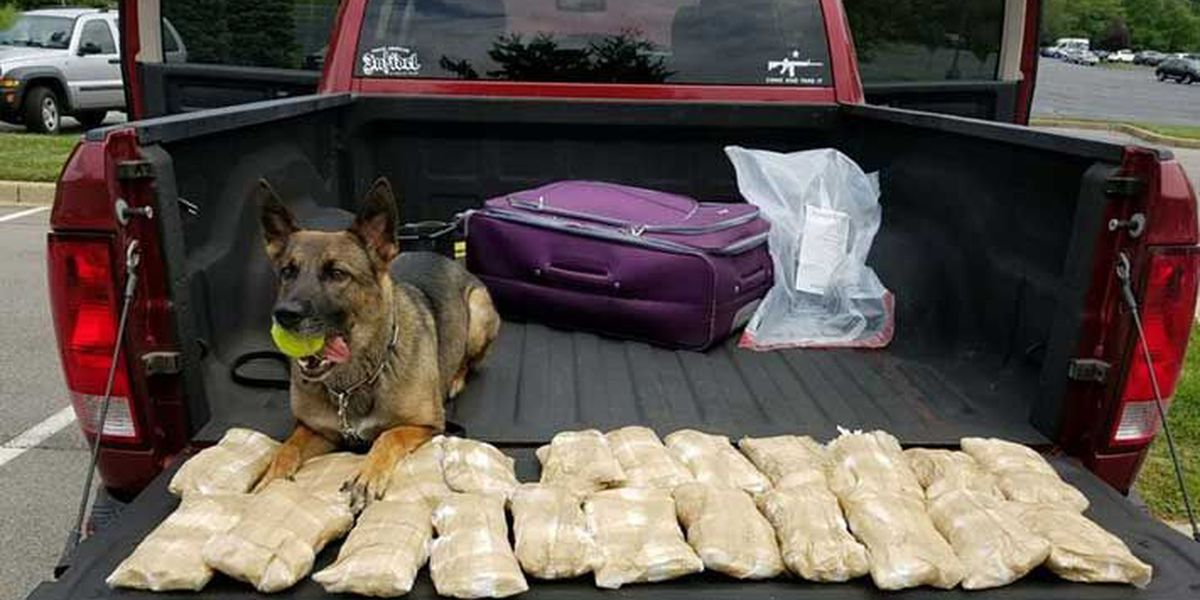 29 pounds of meth discovered in KY traffic stop