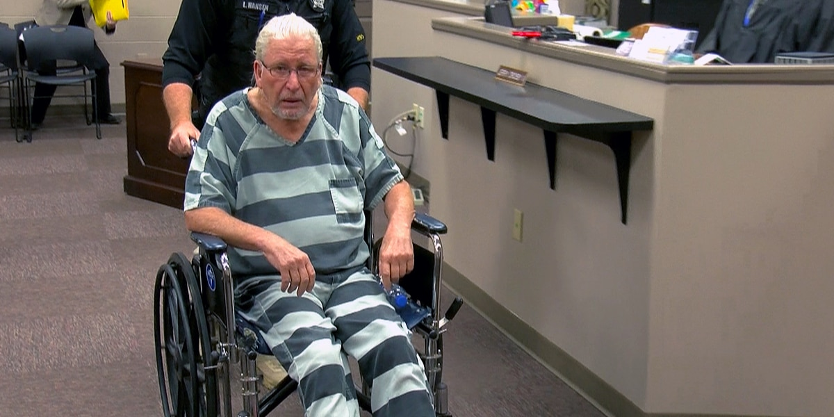 71-year-old man accused of killing son in Henry County wheeled into court hearing
