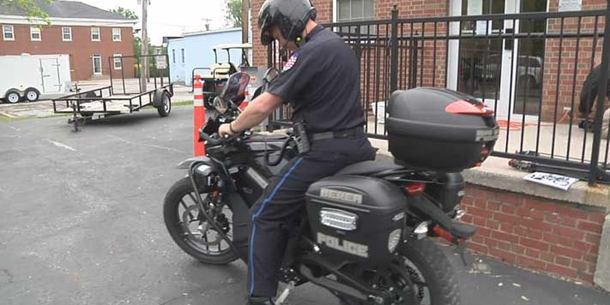 Berea police keeping the peace with all-electric motorcycle