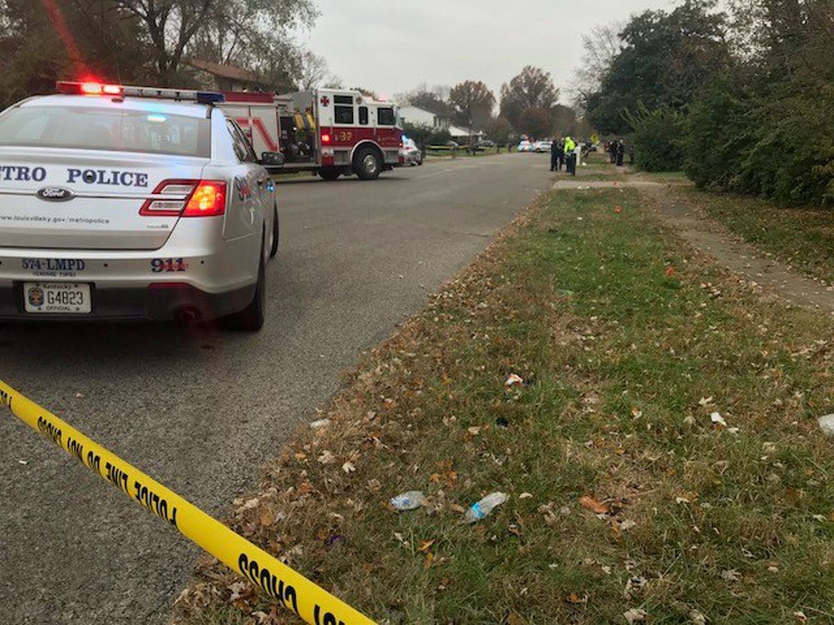 Man shot inside pickup near school identified