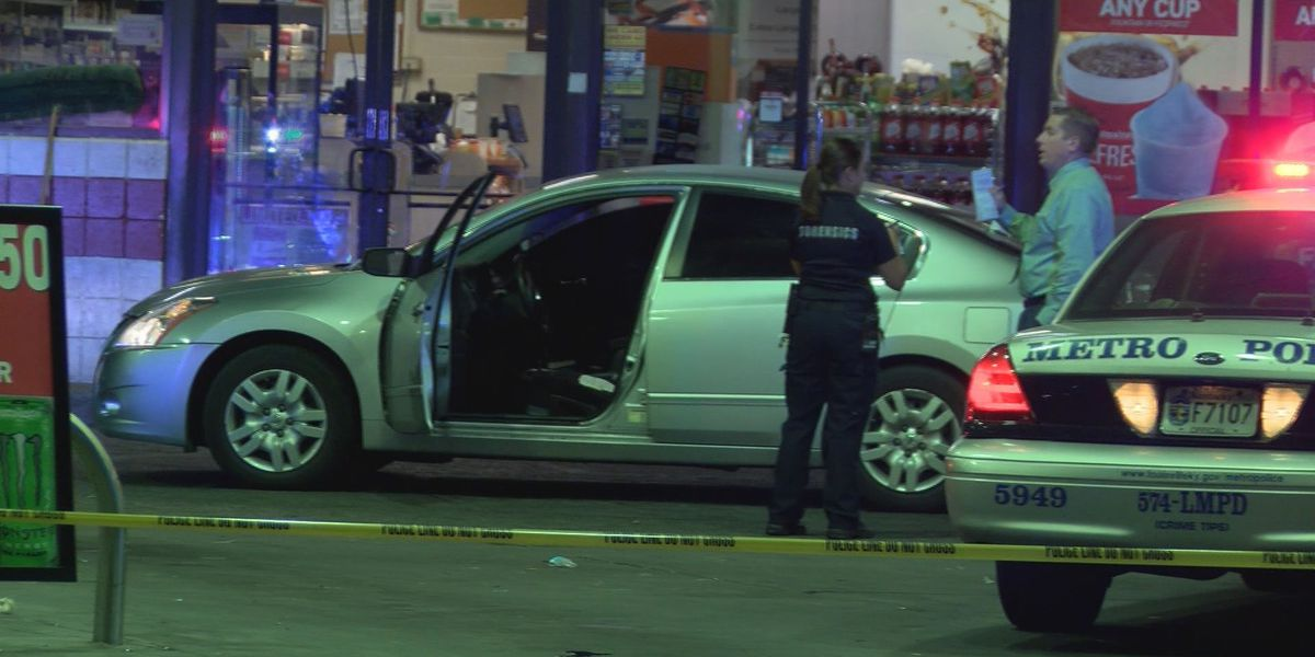 Police: Wounded man drove to store for help