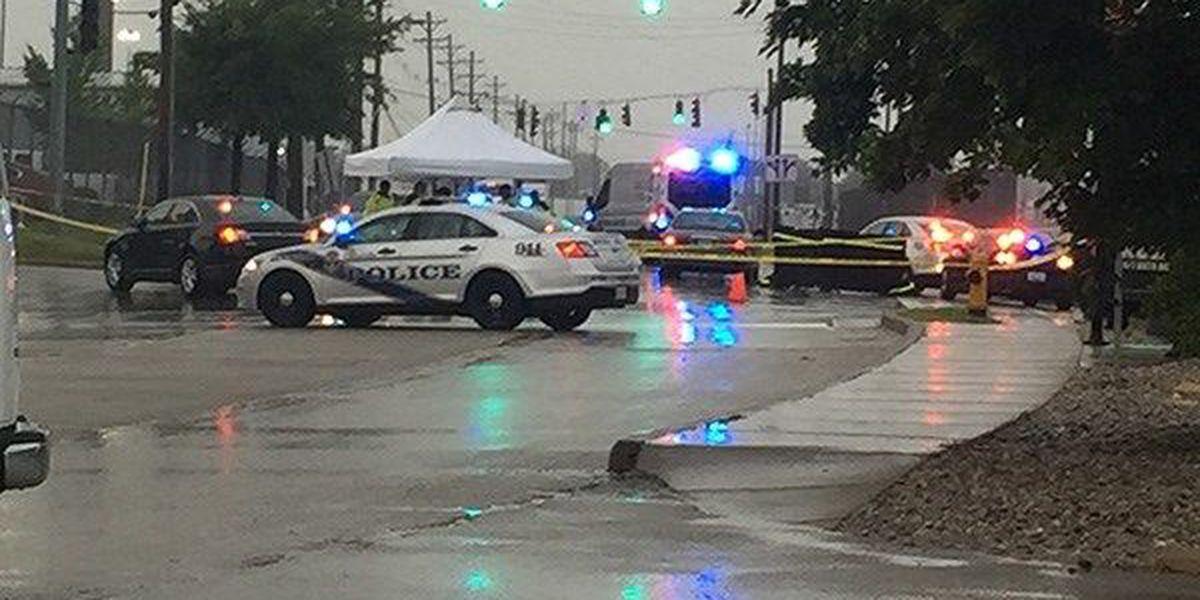 Pedestrian dies after being hit near UPS