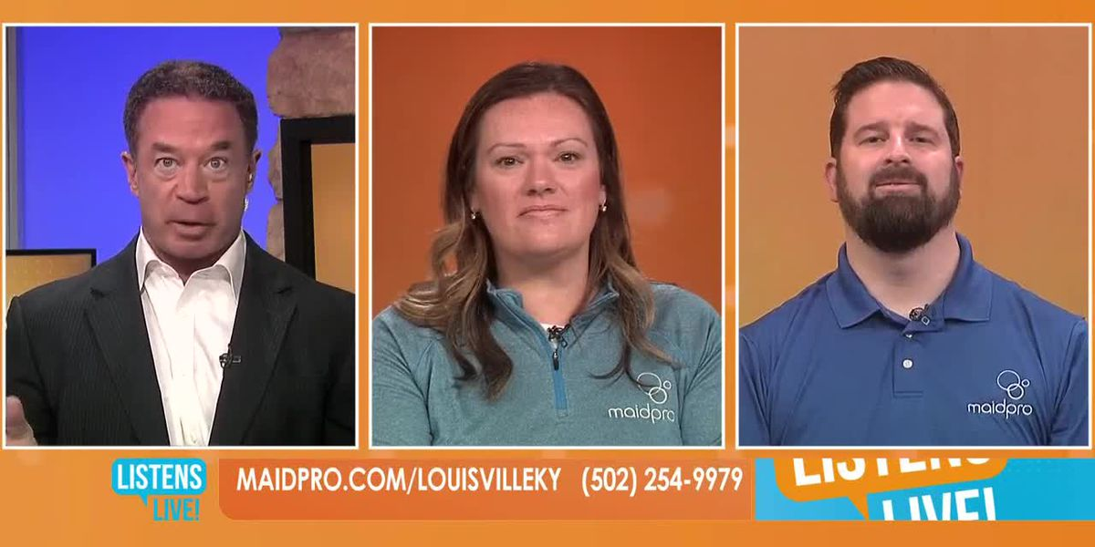 WAVE 3 Listens Live! MaidPro Louisville March 27, 2020