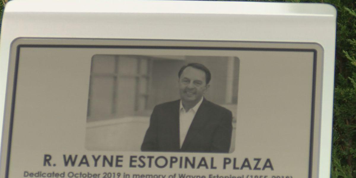 Estopinal Big 4 Plaza unveiled in Jeffersonville