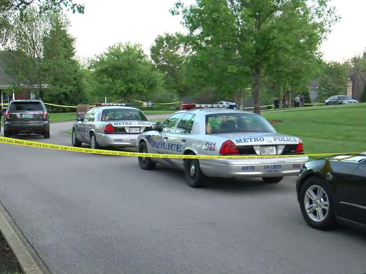 LMPD: 'Distressed' man wielding gun shot by officers