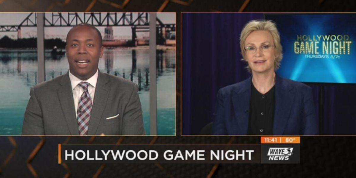 Jane Lynch: 'Zombies vs. The Government' on 'Hollywood Game Night' season premiere