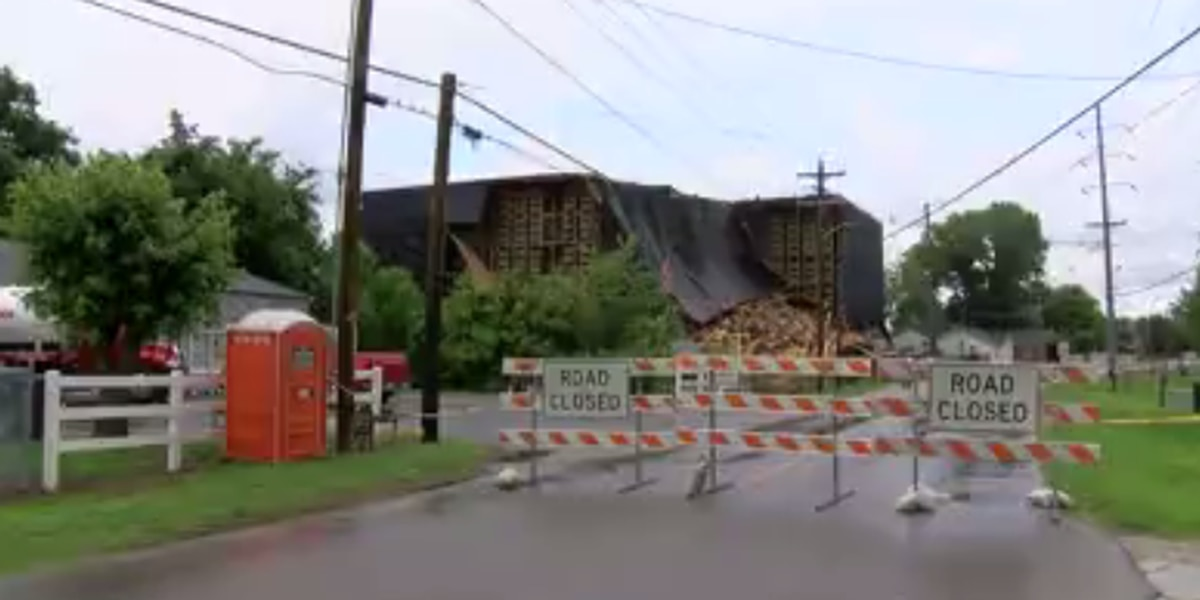 O.Z Tyler Distillery warehouse deconstruction process complete; barrel recovery underway