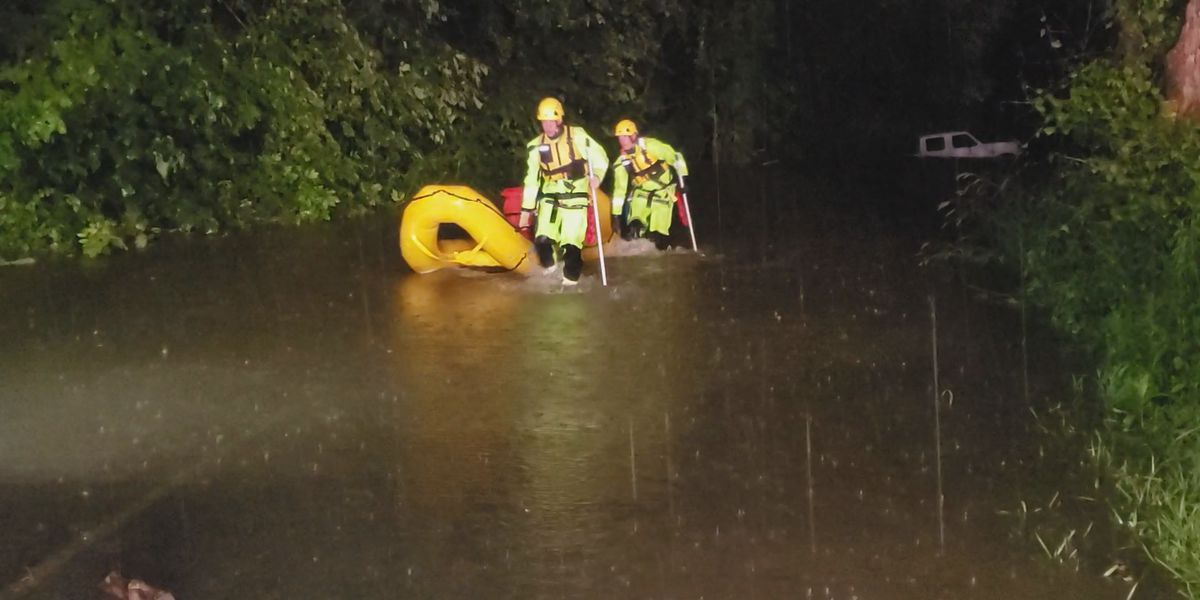1 arrested after water rescue in Floyd County