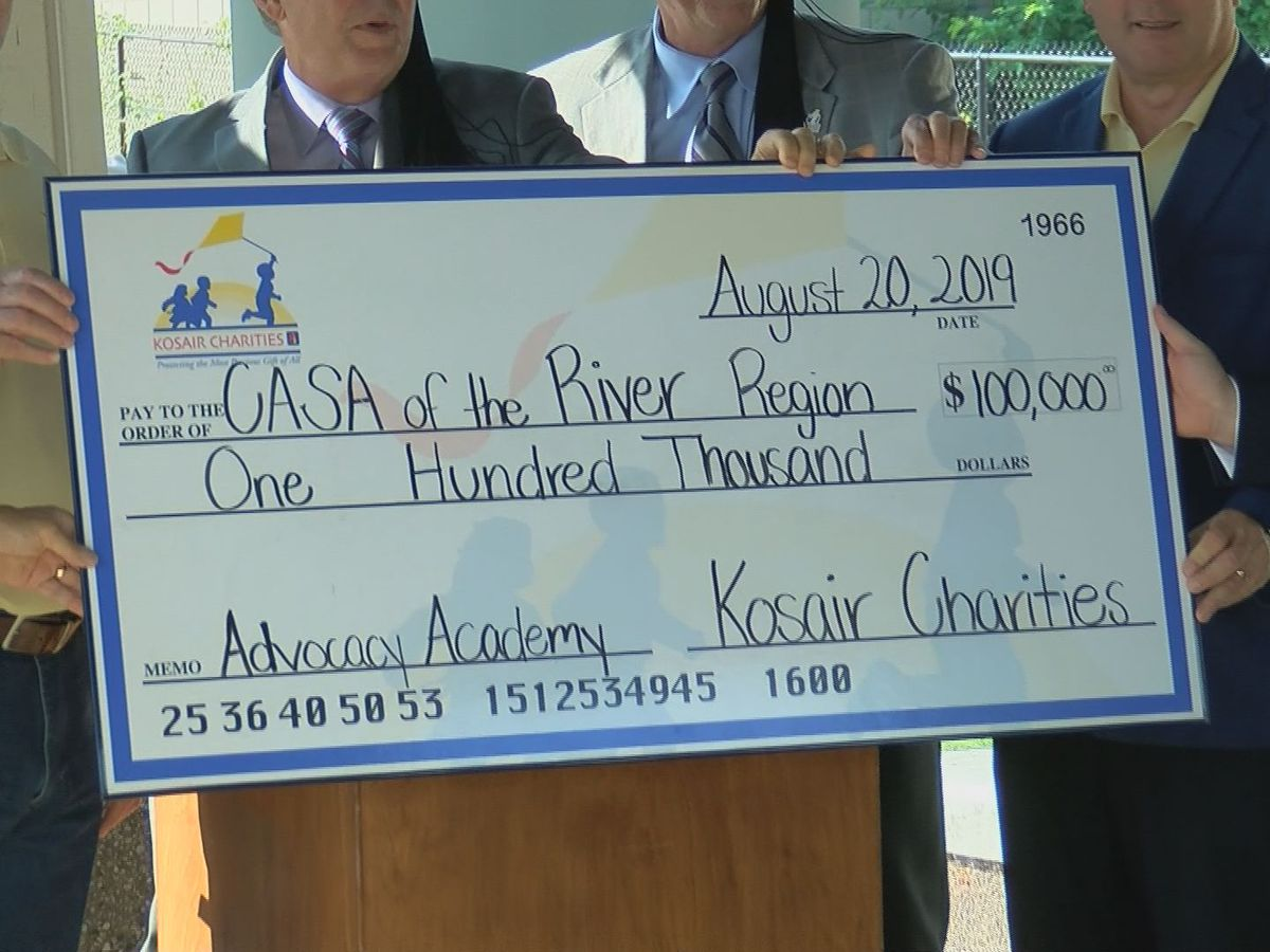 CASA receives $100K grant from Kosair Charities