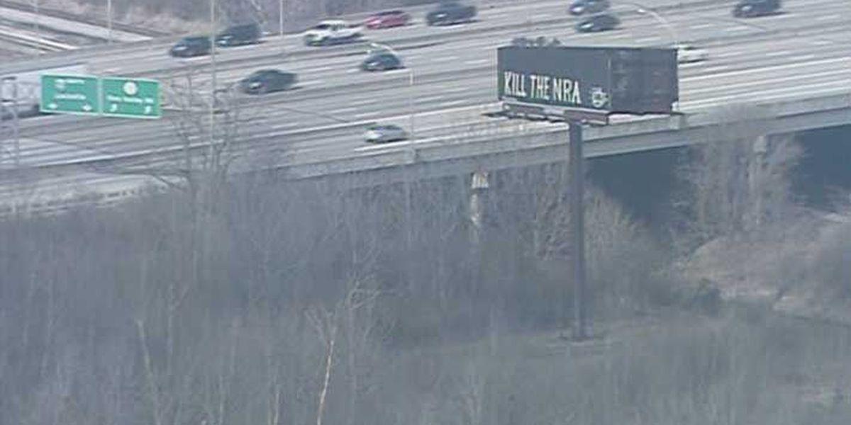 Company says 'Kill the NRA' message on I-65 billboard was vandalism